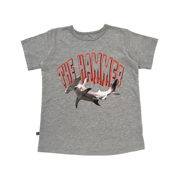 The Hammer Tee - Hibou Clothing