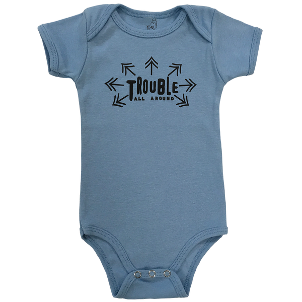 Trouble All Around Bodysuit - Hibou Clothing