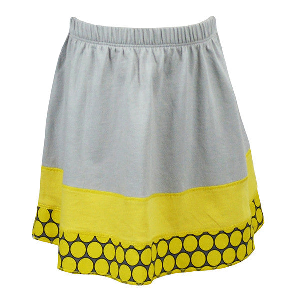 Yellow Dot Skirt - Hibou Clothing