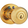 MORNING INDUSTRY INC RKK-01P Remote Control Electronic Entry Knob (Polished Brass Finish)