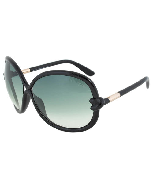 Tom Ford womens sunglasses Sonja FT0185 01B: Tom Ford womens sunglasses Sonja FT0185 01B Black ONE SIZE