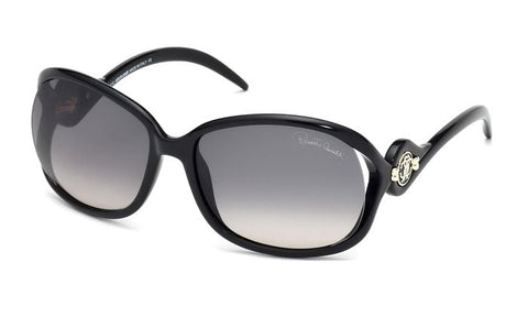 Roberto Cavalli womens sunglasses Ixia RC576S 01B: Roberto Cavalli womens sunglasses Ixia RC576S 01B Black ONE SIZE