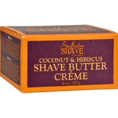 2017 Hot Seller Shea Moisture Shave Cream for Ladies Coconut and Hibiscus - 6 oz Free Shipping