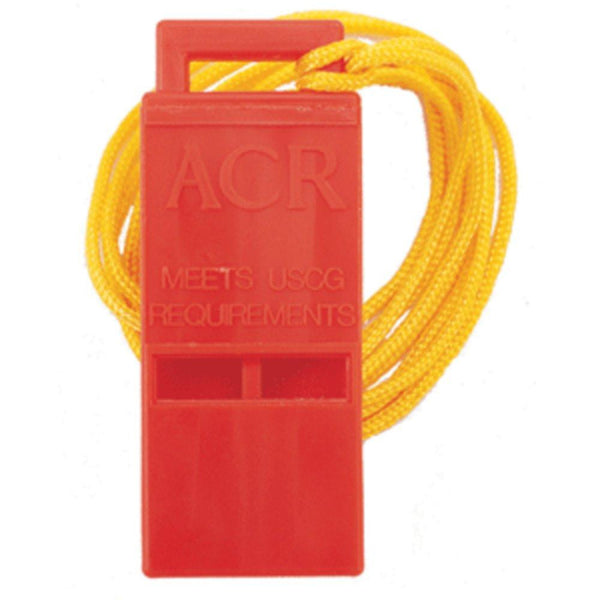 ACR Survival Res-Q™ Whistle w-18 Lanyard