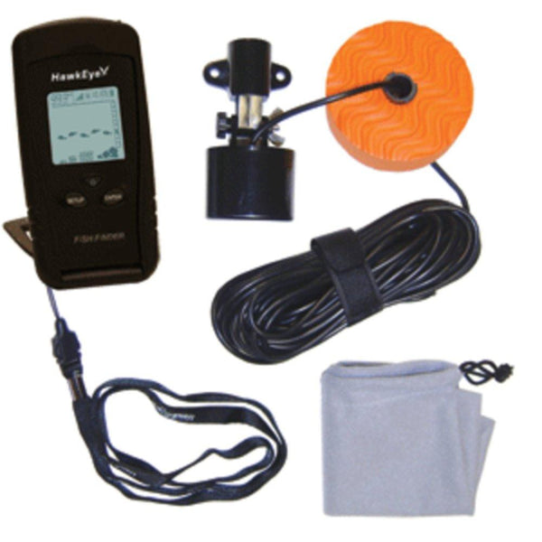HawkEye Portable Fish Finder w-WeedID®
