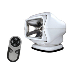 Golight Stryker Searchlight 12V w-Wireless Handheld Remote - White