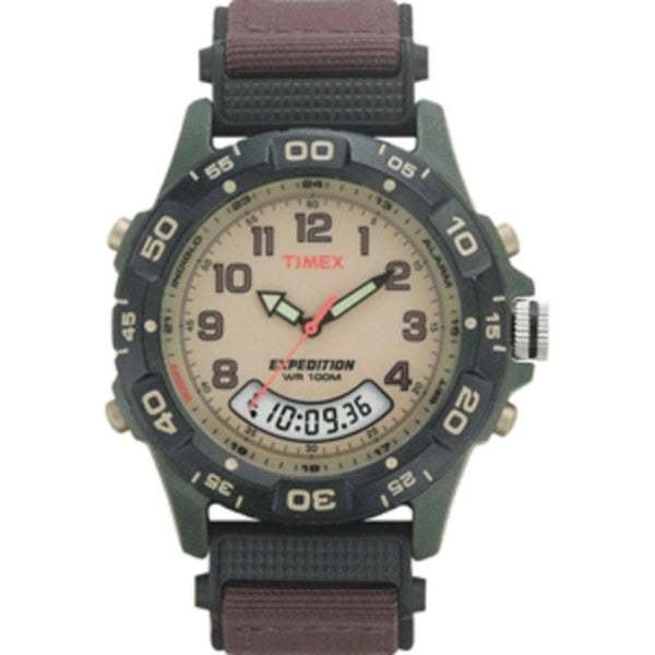 Timex Expedition Resin Combo Classic Analog Green-Black-Brown