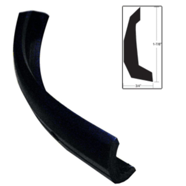 TACO Semi-Rigid Rub Rail Kit - Black w-No Insert - 30