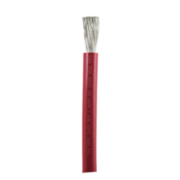 Ancor Red 2-0 AWG Battery Cable - Sold By The Foot