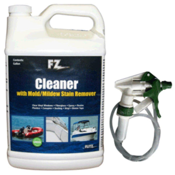 Flitz Marine-RV Cleaner w-Mold & Mildew Stain Remover - 1 Gallon (128oz)Refill