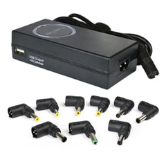 LapTek LT90W 90W Universal Notebook AC Power Adapter w-USB Charge Port & 8 Power Tips for Acer ASUS HP Dell & More