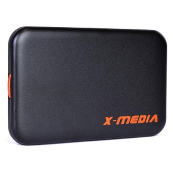 2.5 X-Media XM-EN2251U3-BK SuperSpeed USB 3.0 External SATA HDD Screwless Aluminum Enclosure - Supports up to 1TB!