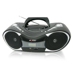 Axess Portable CD-MP3 Boombox