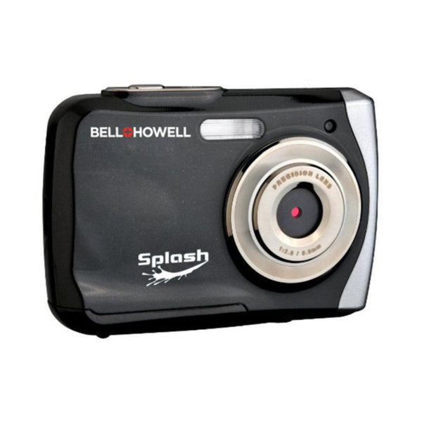Bell+Howell Splash WP7 12 MP Waterproof Digital Camera-Black