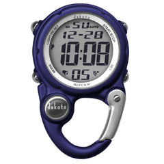 Dakota Digital Clip Mini Watch - Water Resistant - Blue