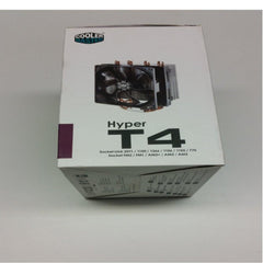 Cooler Master Hyper T4 RR-T4-18PK-R1 120mm CPU Fan For Intel and AMD Sockets RRT418PKR1