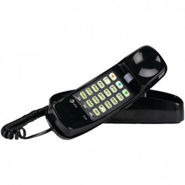 New Arrival ATT ATTML210B Corded Trimline(R) Phone with Lighted Keypad - Black