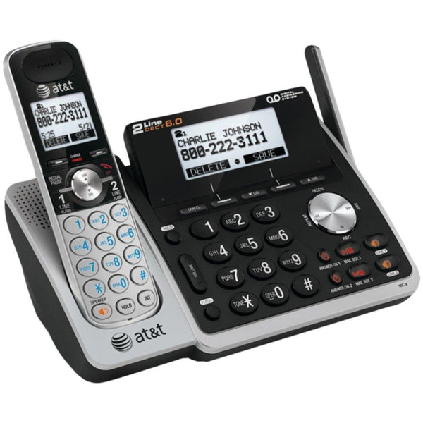 New Hot Sale ATT ATTL88102 DECT 6.0 Expandable 2-Line Speakerphone with Caller ID