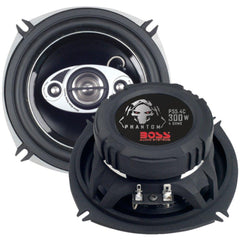 BOSS AUDIO P55.4C Phantom Series Speakers with Electroplate-Injection Cone (5.25)