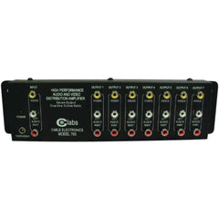 CE LABS AV 700 Prograde Composite A-V Distribution Amp (1 input - 7 output)
