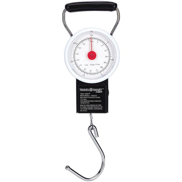 TRAVEL SMART BY CONAIR TS602LS Luggage Scale & Tape Measure