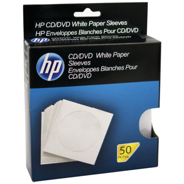 HP HPWS50RB CD-DVD Storage Sleeves (50 pk)