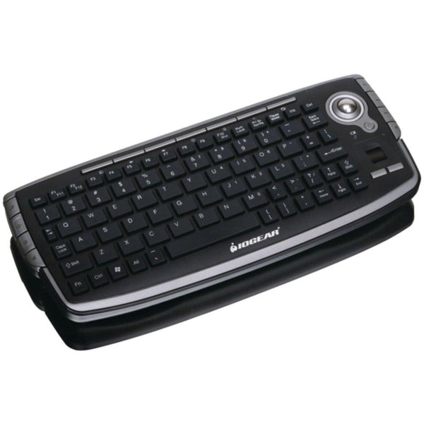 IOGEAR GKM681R 2.4GHz Wireless Compact USB Keyboard with Optical Trackball & Scroll Wheel