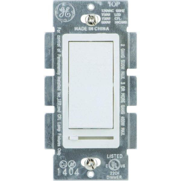 GE 10464 Single Pole Rocker-Style Dimmer