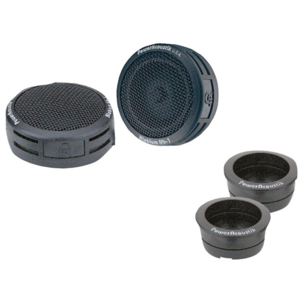 POWER ACOUSTIK NB-2 200-Watt 3-Way Mount Tweeters