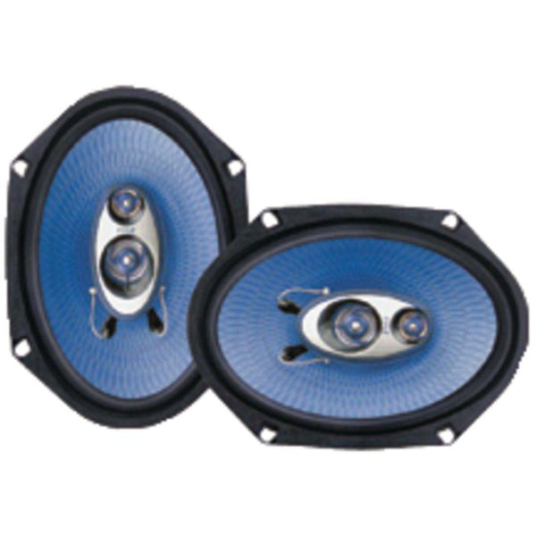 PYLE PL683BL Blue Label Speakers (6 x 8, 3 Way)