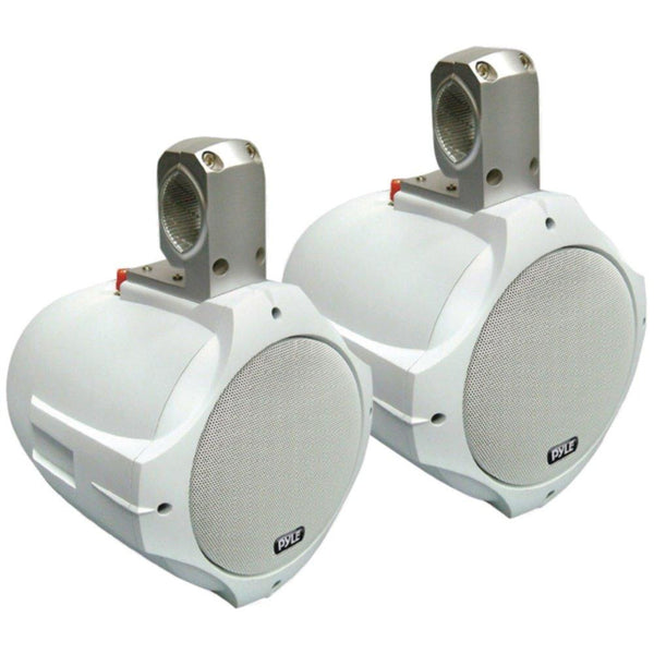 PYLE PLMRW65 Hydra Series 2-Way Wakeboard Speakers (6.5, 200 Watts, White)