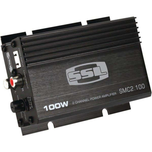 SOUNDSTORM SMC2.100 Mini Class AB 2-Channel 100-Watt Amp