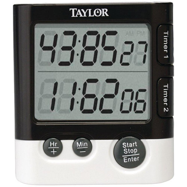 TAYLOR 5828 Dual Event Digital Timer-Clock