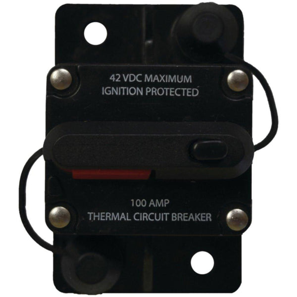BATTERY DOCTOR 31202-7 Manual-Reset Circuit Breaker (100 Amps)