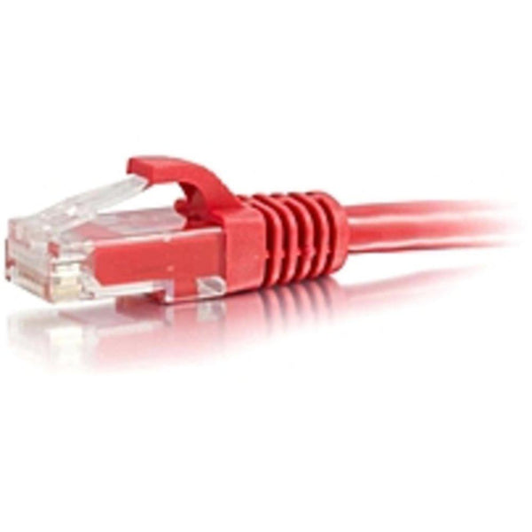1ft Cat6 Snagless Unshielded (UTP) Network Patch Cable - Red - Category 6 for Network Device - RJ-45 Male - RJ-45 Male - 1ft - Red