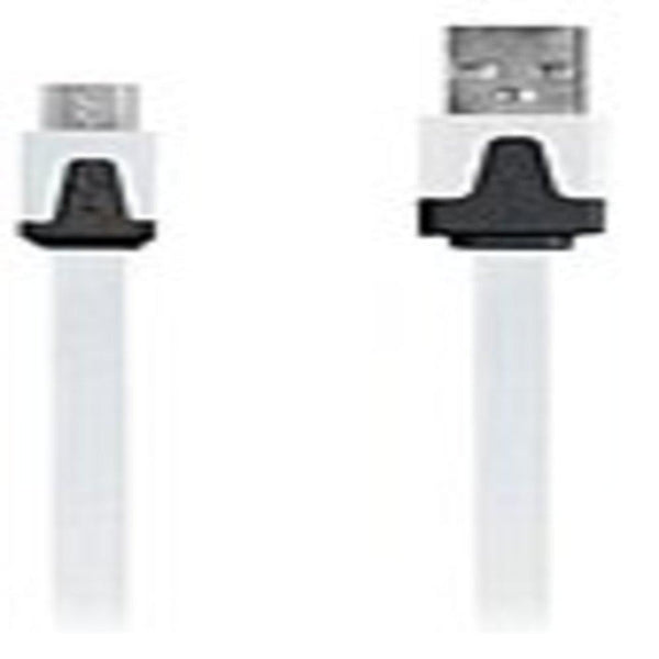 DigiPower IE-DCMICRO-WT USB Data Transfer Cable - USB - For Smart Phones-Tablets -  3 ft - Micro USB - White