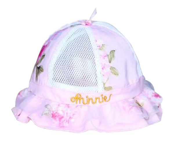 Baby Hats Girls Princess Hat Breathable Hat Comfortable Hat Rose Pink