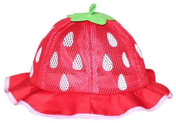 Baby Hats Girls Princess Hat Breathable Hat Comfortable Hat Red
