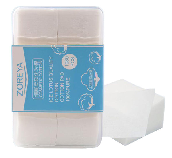1080 Counts Makeup Facial Soft Cotton Pads