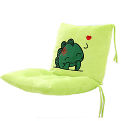 Multifunctional Thick Cushion For Office Chair (Little green monster)