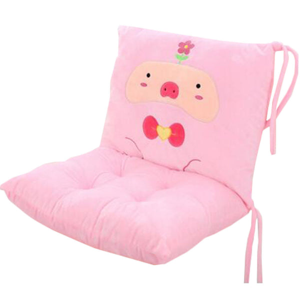 Removable Sofa Cushion Student Thicker Cushion Office Chair Cushion Pillow Pink