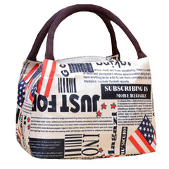 New 2016 Fashion Reusable Lunch Holder Tote Bag/Box