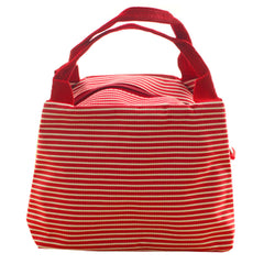Lunch Bag Lunch Box Holder Lunch Tote Bag, Reusable, Red