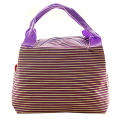 Lunch Bag Lunch Box Holder Organizer Lunch Tote Bag Reusable, Purple