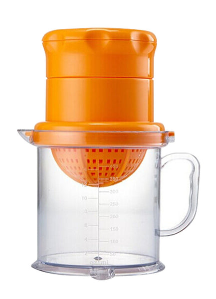 Plastic Manual Fruit Juicer Lemon Squeezer Baby Food Citrus Juicer ORANGE