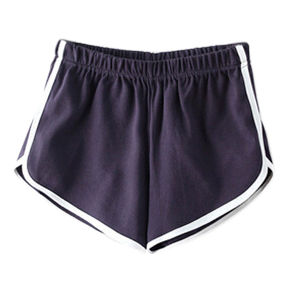 New Arrival Athletic Cotton Shorts For Women, Exercise Beach Shorts Swim Trunk - Grey Free Shipping