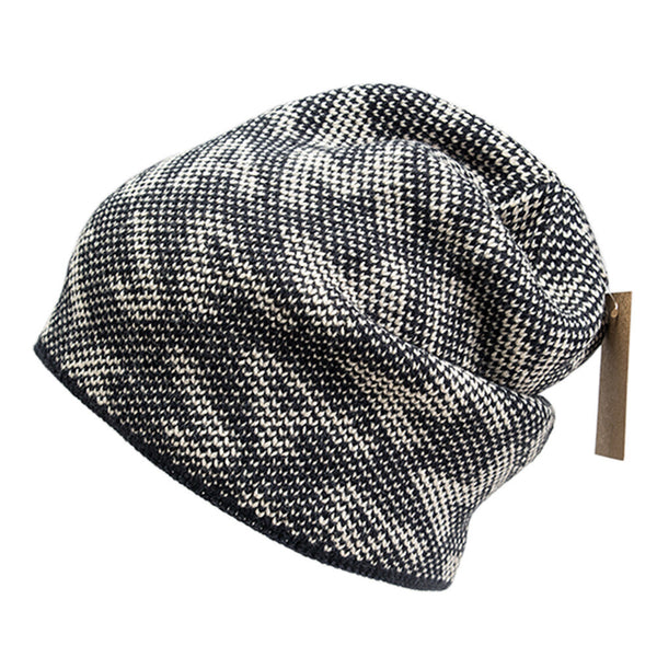 Mens Winter Snow cap Floppy Hat Fashional Thicken Hat Warm Villus Hat Navy