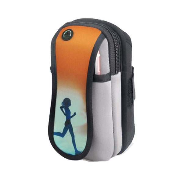 Arm Cuff Jogging Package Running Cell Phone Arm Bag Mobile Phone Wrist Bag