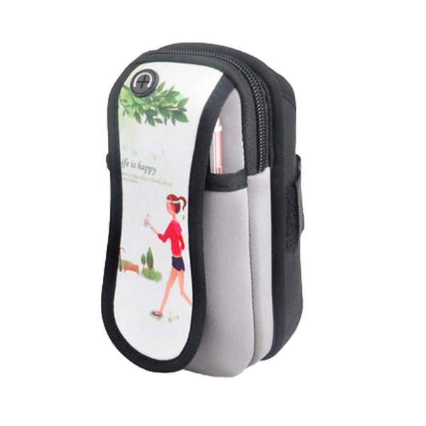 Arm Bag Jogging Package Mobile Phone Running Cell Phone Arm Cuff Wrist Bag