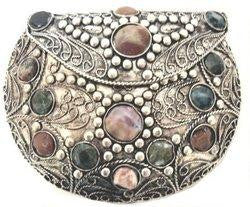 Agate Inlaid Handbag: Agate Inlaid Handbag (India)